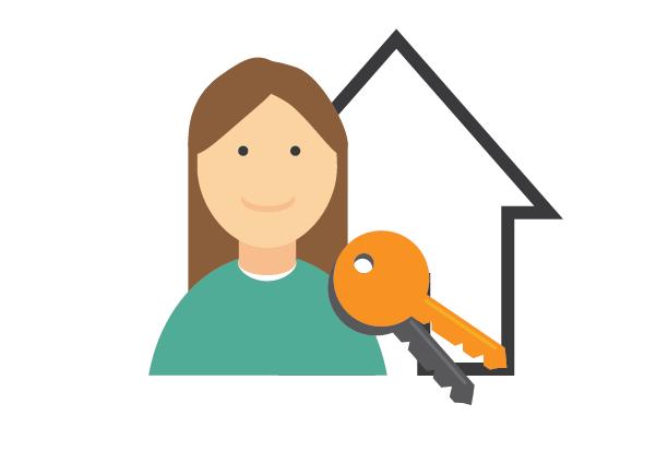 Rechtstreeks contact met potentiële huurders en huisgenoten