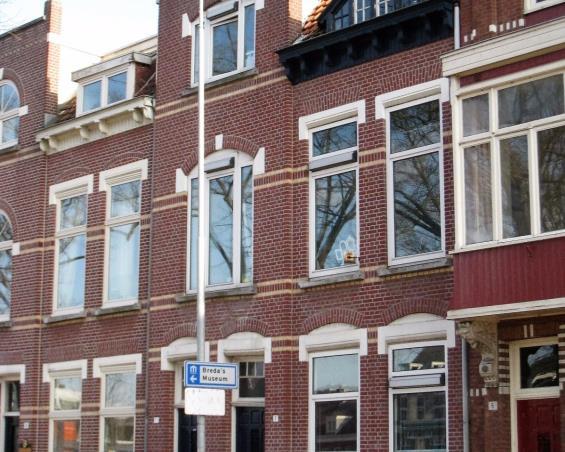 Kamer aan Wilhelminasingel in Breda