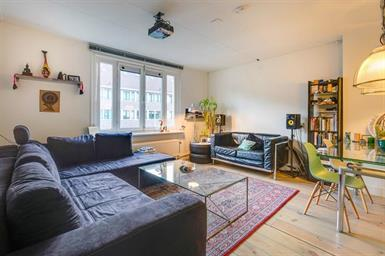 Kamer in Amsterdam, Saffierstraat op Kamernet.nl: This cozy 3-room apartment with sunny balcony is