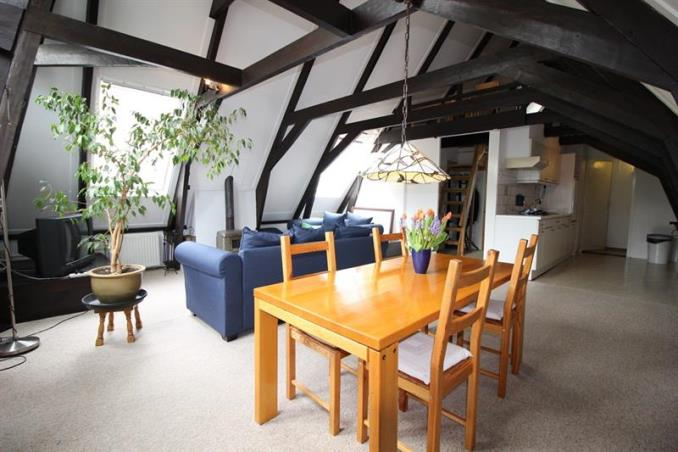 Appartement aan Vondelstraat in Amsterdam