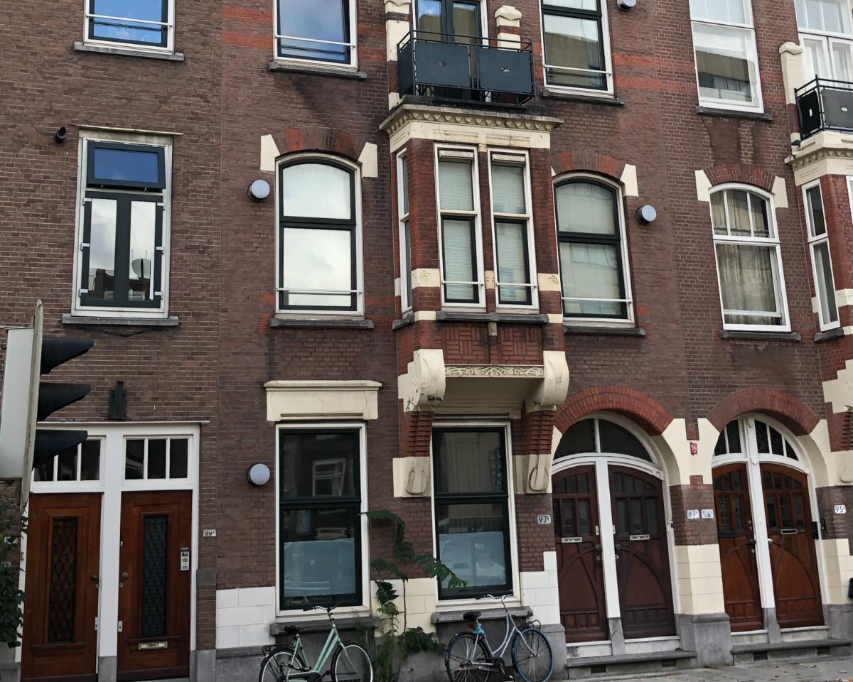 Kamer te huur aan de Schiekade in Rotterdam