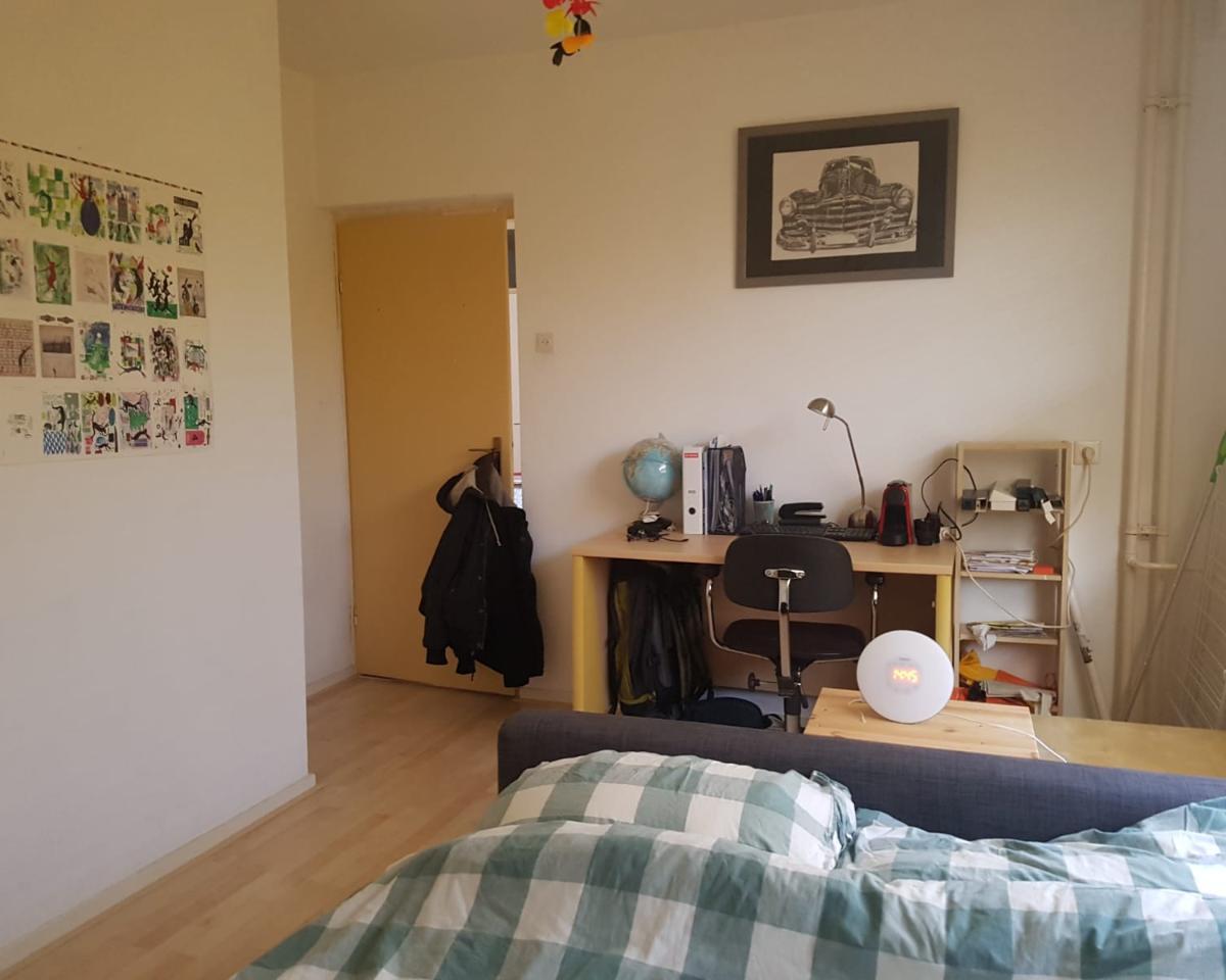 Kamer aan Hobokenstraat in Breda