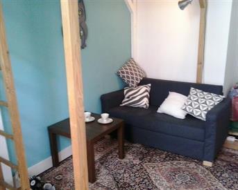 Kamer in Nijmegen, Barbarossastraat op Kamernet.nl: Leuke kamer met hoogslaper