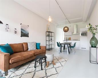 Kamer in Amsterdam, Nieuwpoortstraat op Kamernet.nl: Geweldig gemeubileerd appartement