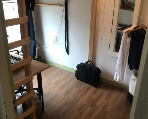 Kamer aan Borneoplein in Groningen