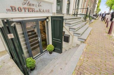 Kamer in Amsterdam, Kromme Waal op Kamernet.nl: Gemeubileerd 1-slaapkamer souterain woning