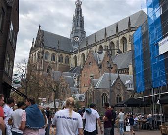 Kamer in Haarlem, Zijlstraat op Kamernet.nl: Twee kamers vlakbij de grote markt in Haarlem!
