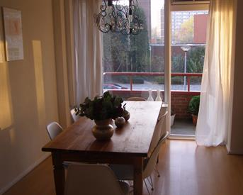 Kamer in Groningen, Kochstraat op Kamernet.nl: Prachtige kamer met balkon +aparte slaapkamer