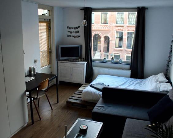 Kamer aan Obrechtstraat in Den Haag