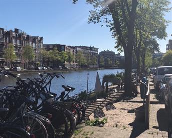 """Kamer in Amsterdam, Jacob Catskade op Kamernet.nl: """"Amsterdam""""-style kamer (gestoffeerd) - Westerpark"""