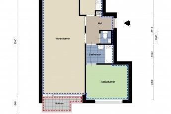 Kamer in Tilburg, Louis Bouwmeesterplein op Kamernet.nl: MOGELIJKHEID TOT AANVRAGEN VAN HUURTOESLAG