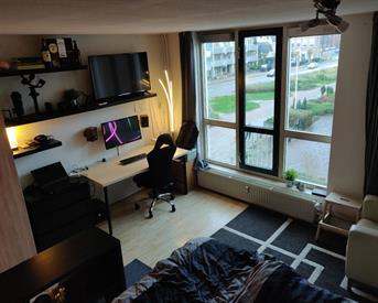 Kamer in Enschede, Wilhelminastraat op Kamernet.nl: Ruime, lichte kamer in hartje Enschede (man)