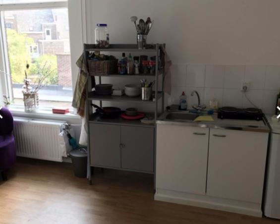 Studio at Orleansplein in Maastricht