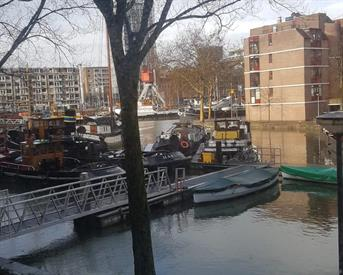 Kamer in Rotterdam, Jufferkade op Kamernet.nl: Kamer Huize Fortuna Leuvehaven