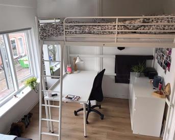 Kamer in Haarlem, Lotterstraat op Kamernet.nl: Lichte kamer met keukenblok nabij Station Haarlem.