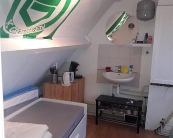 Kamer in Groningen, Van Heemskerckstraat op Kamernet.nl: Tijdelijke kamer met eigen dakterras