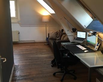 Kamer in Delft, Spoorsingel op Kamernet.nl: Large loft in student house on excellent location