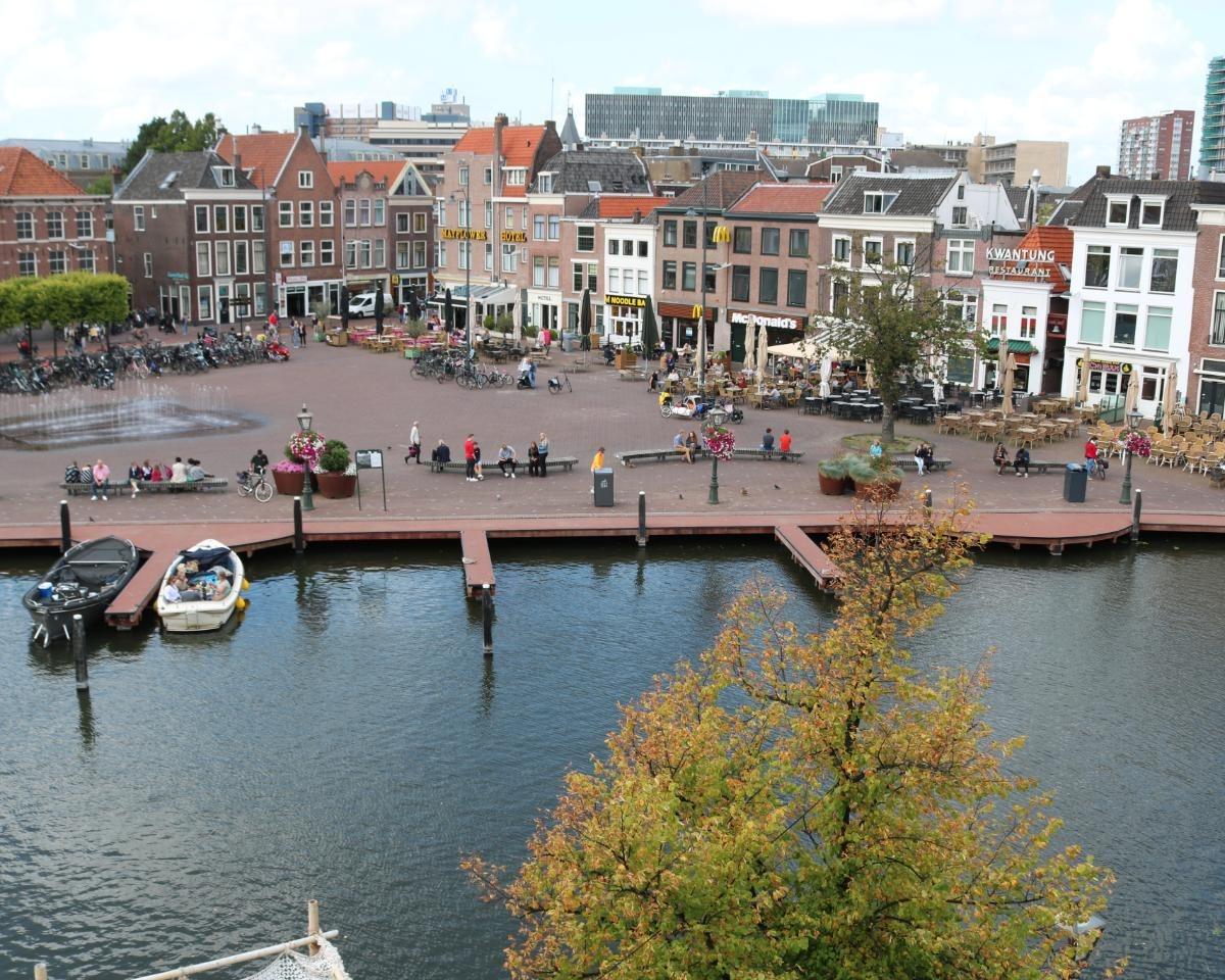 Kamer te huur in de Turfmarkt in Leiden