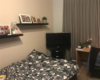 Kamer in Leiden, Omegaplantsoen op Kamernet.nl: Tijdelijke kamer (V) in tweepersoonsappartemenr