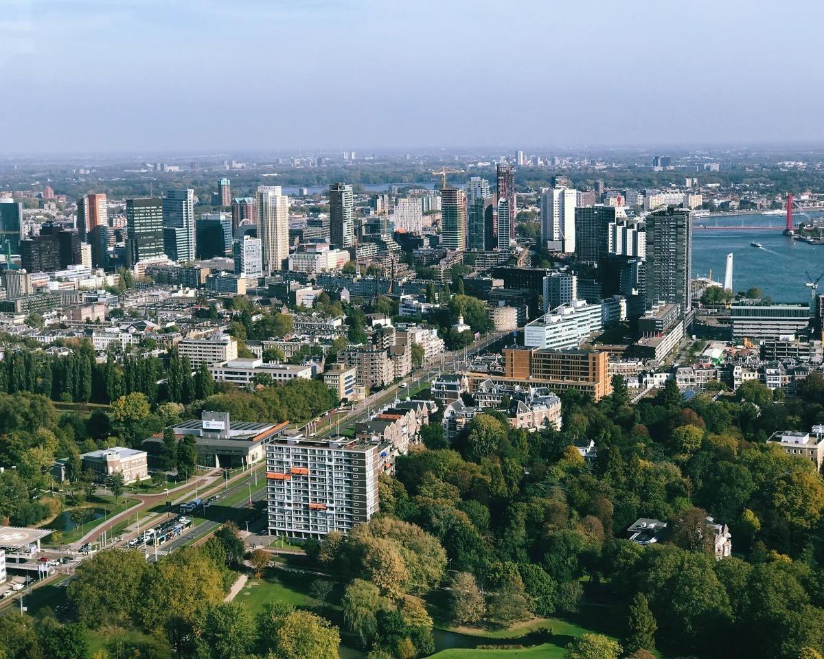 Appartement aan Van Vollenhovenstraat in Rotterdam