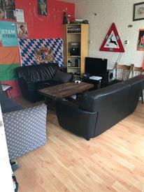 Kamer in Groningen, Briljantstraat op Kamernet.nl: Gezellig/actief studentenhuis zoekt nieuwe huisgenoot