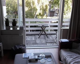Kamer in Breda, Wilhelminasingel op Kamernet.nl: Kamer met terras nabij centrum Breda