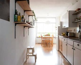 Kamer in Amsterdam, Bankwerkerij op Kamernet.nl: Ruim appartement dichtbij Ijplein