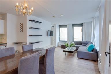 Kamer in Amsterdam, Monnikenstraat op Kamernet.nl: gemeubileerde 1 slaapkamer appartement