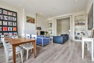 Kamer in Amsterdam, Sarphatistraat op Kamernet.nl: Beautiful light room in luxurious apartment