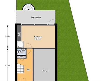 Kamer in Diemen, Pater Pirestraat op Kamernet.nl: Appartement Diemen centrum