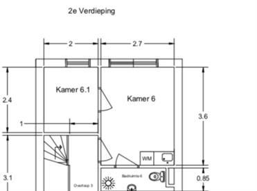 Kamer in Deventer, Klinkenbeltsweg op Kamernet.nl: Compacte studio in Deventer per direct beschikbaar