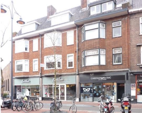 Kamer aan Korevaarstraat in Leiden