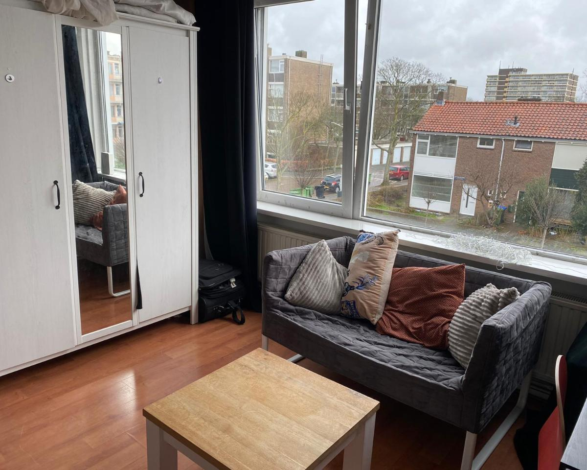 Kamer te huur in de Brucknerstraat in Leiden