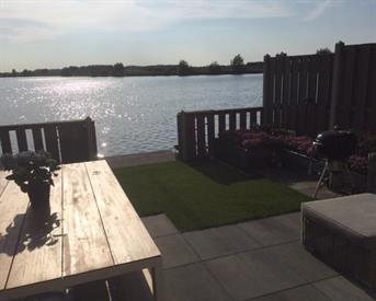 Kamer in Rosmalen, Vlondertuinen op Kamernet.nl: UNIEKE WONING OP EILAND, DIRECT AAN WATERPLAS