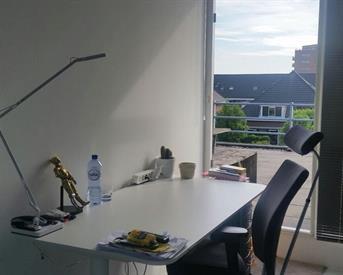Kamer in Delft, Zaaihoek op Kamernet.nl: studio met 6 meter lang dakterras op het zuiden