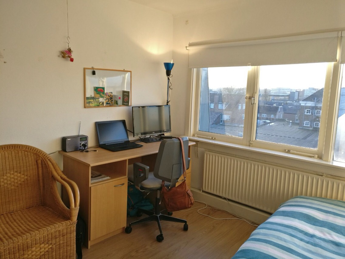 Kamer aan Agnietenstraat in Arnhem