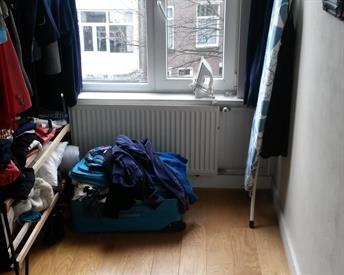Kamer in Den Haag, Arnhemsestraat op Kamernet.nl: Beknopte kamer voor vrouw in Scheveningen!