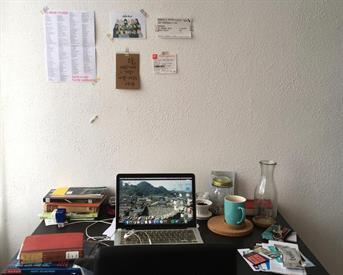 Kamer in Den Haag, Antheunisstraat op Kamernet.nl: Room for female students / working professionals