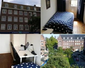 Kamer in Amsterdam, Legmeerplein op Kamernet.nl: A cosy room for you available near the Vondelpark!