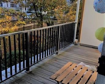 Kamer in Amsterdam, Sarphatipark op Kamernet.nl: Beautiful, quiet room in De Pijp w/ balcony!
