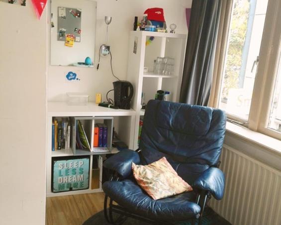 Kamer aan Nieuwe Oosterstraat in Leeuwarden