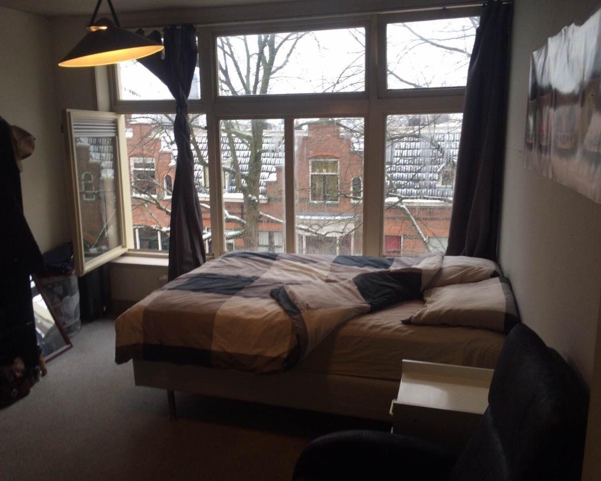 Kamer aan H.W. Mesdagstraat in Groningen