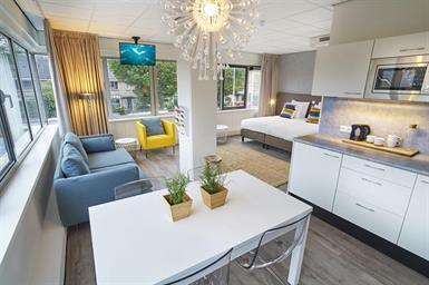 Kamer in Badhoevedorp, Meidoornweg op Kamernet.nl: Studio / apartment in Badhoevedorp