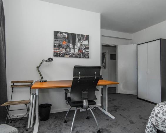 Kamer aan Balistraat in Delft