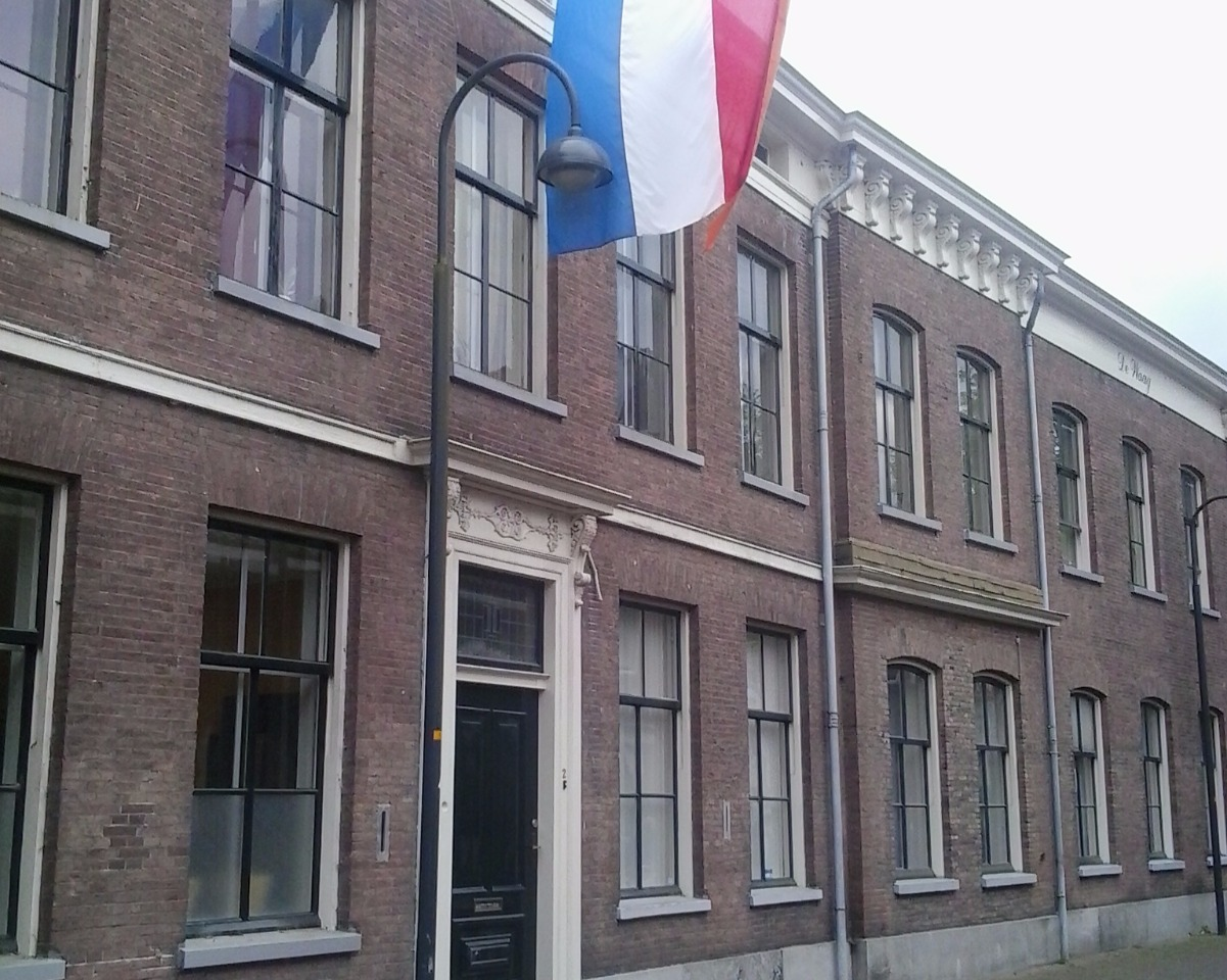 Kamer aan Waagstraat in Wageningen