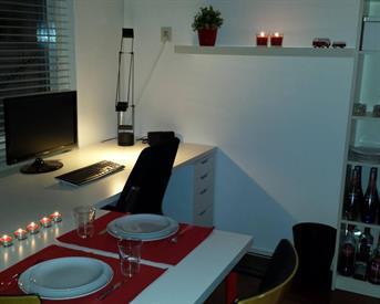 Kamer in Groningen, Uranusstraat op Kamernet.nl: Gemeubileerde kamer. 16m²