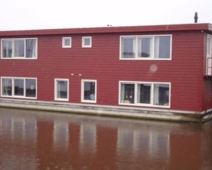 Studio aan Woonschepenhaven in Groningen