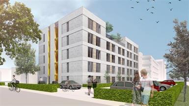 Kamer in Den Bosch, Het Wielsem op Kamernet.nl: Modern appartement complex