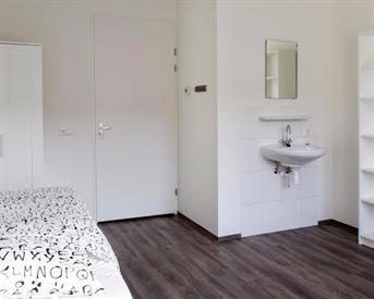Kamer in Leeuwarden, Ubbo Emmiuslaan op Kamernet.nl: Furnished room across NHL Stenden