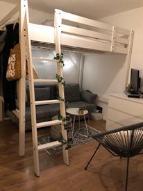 Kamer in Haarlem, Dr. Leijdsstraat op Kamernet.nl: Mooie ruime kamer met eigen keuken
